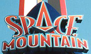 Space Mountain logo.