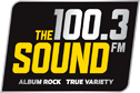 100.3 The Sound logo 126x84px logo