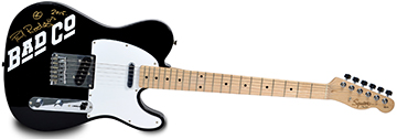 Paul Rodgers signed Telecaster 360x126px logo