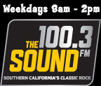 2015 air times 100.3 The Sound logo 144x123px logo