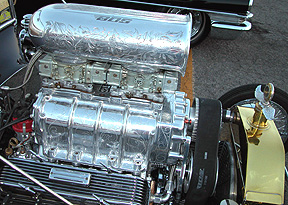 Super detailed engine.