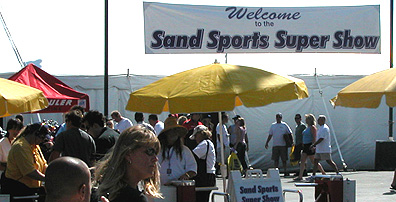 One of the Sand Sport Super Show Entrances