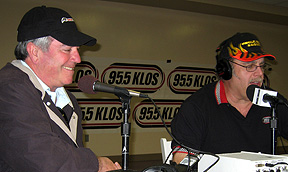 Jim Mueller on-air with J.B.