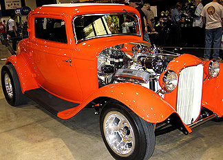 An original deuce coupe.