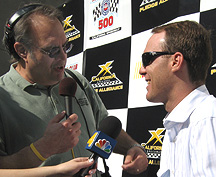 Unc interviewing Kevin Harvick.