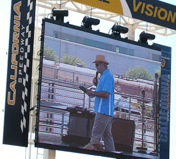 Joe on the big screen.