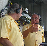 Unc & Mike calling the race.