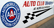 Auto Club Drgway sign