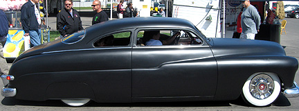 Primed lead sled.
