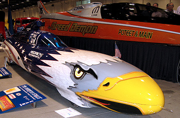 Eagle landspeed car.