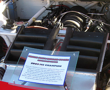 ZVette engine display.