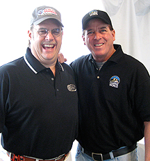 Cracking up with Ron Hornaday Jr.