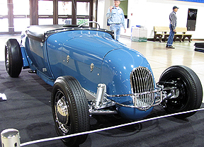 Blue Speedster.