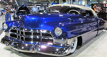 Blue Caddy.