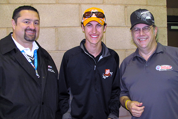 Joe Balava, Joey Logano & Uncle Joe.