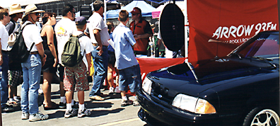 Unc Joe's Mustang @ Good Guy's Hot Rod Happenin' #2.