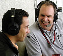 J.B. & Helio Castroneves.
