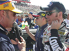 Joe interviews Jimmie Johnson