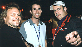 Michael Anthony, Brian Herta & J.B.