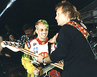 Michael Anthony & Kenny Brack.