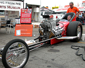 Old school dragster!