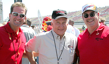 J.B. & Shawn with Buzz Aldrin.