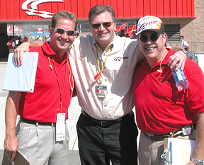 Shawn & J.B. with Bill Miller